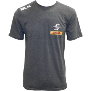 DHL Stormers Cotton Tshirt Charcoal