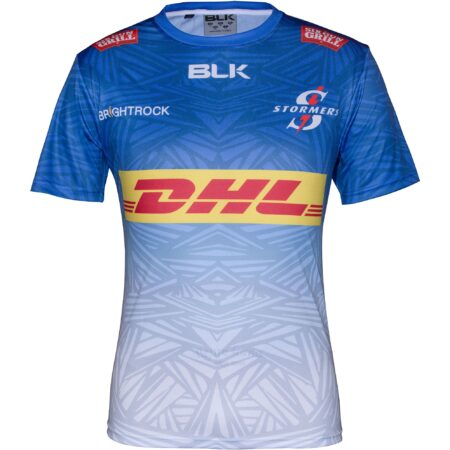 DHL Stormers training jersey replica blue_front